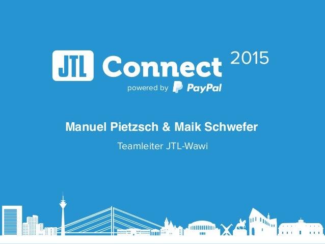 powered by Teamleiter JTL-Wawi Manuel Pietzsch & Maik Schwefer