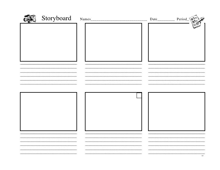Keynote Storyboard Template Keynote Storyboard