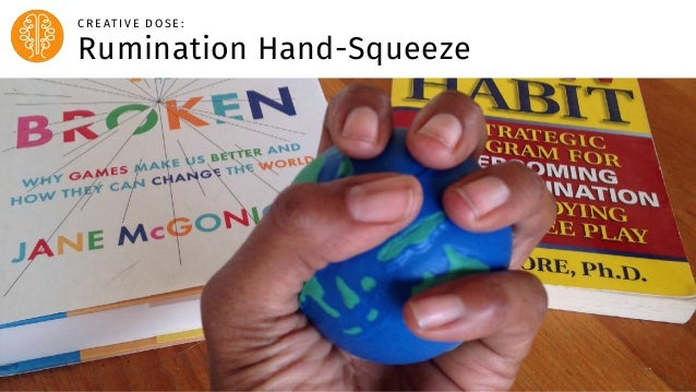 Body Level One Body Level Two Body Level Three Body Level Four Rumination Hand-Squeeze C R E AT I V E D O S E :