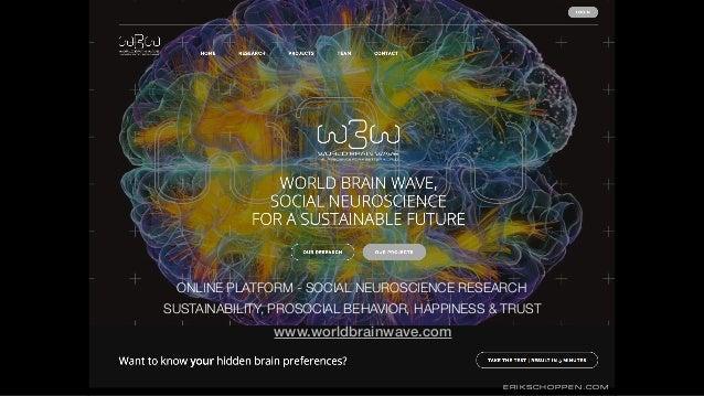www.worldbrainwave.com ONLINE PLATFORM - SOCIAL NEUROSCIENCE RESEARCH SUSTAINABILITY, PROSOCIAL BEHAVIOR, HAPPINESS & TRUS...