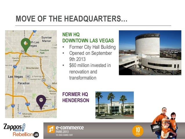 Votre Logo ici MOVE OF THE HEADQUARTERS… NEW HQ DOWNTOWN LAS VEGAS • Former City Hall Building • Opened on September 9th...