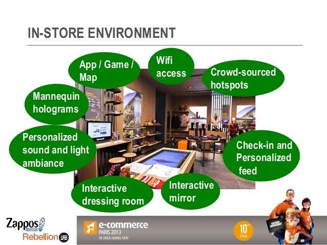 Le magasin du futur - Keynote Zappos E-Commerce Paris 2013 par Dominique Piotet (Rebellion Lab)