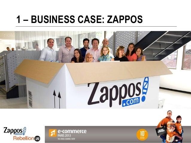 Votre Logo ici 1 – BUSINESS CASE: ZAPPOS