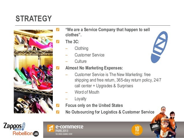 paper on zappos marketing tactics Discover what truly makes a strong brand strategy, why your organization needs one, and how to start building it today as a result of its commitment to consistency, every element of the brand's marketing works harmoniously together this has helped it become one of the most recognizable brands in the.