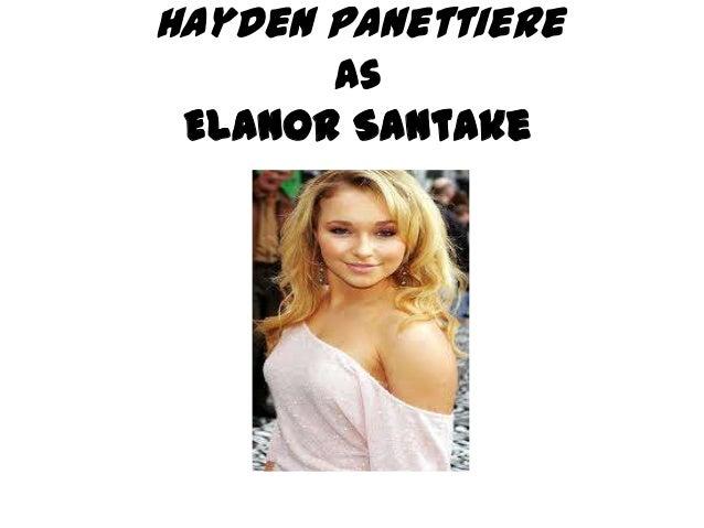 Hayden Panettiere       as Elanor Santake