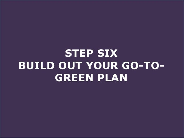 ACTIVITY EIGHT As a management team, figure out how to turn all Key-Person plans to green