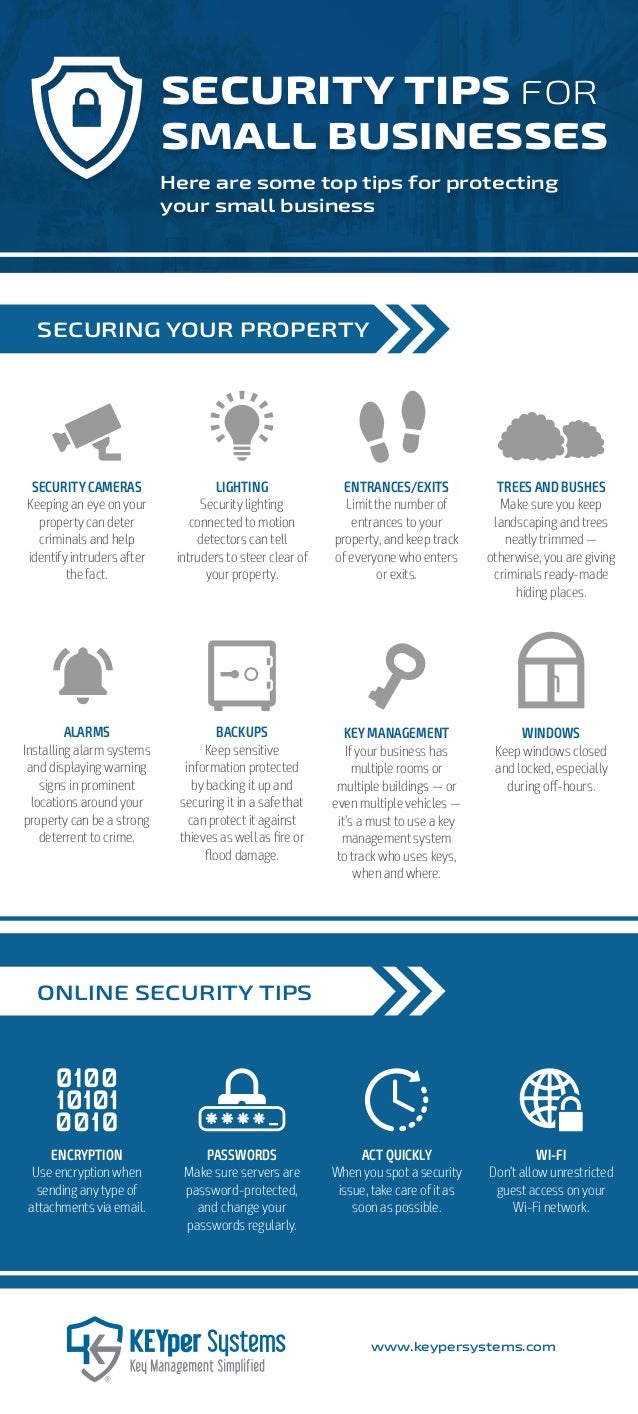 SECURITY CAMERAS Keeping an eye on your property can deter criminals and help identify intruders after the fact. ALARMS In...