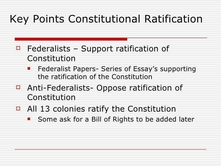 a series of essays supporting the ratification of the constitution