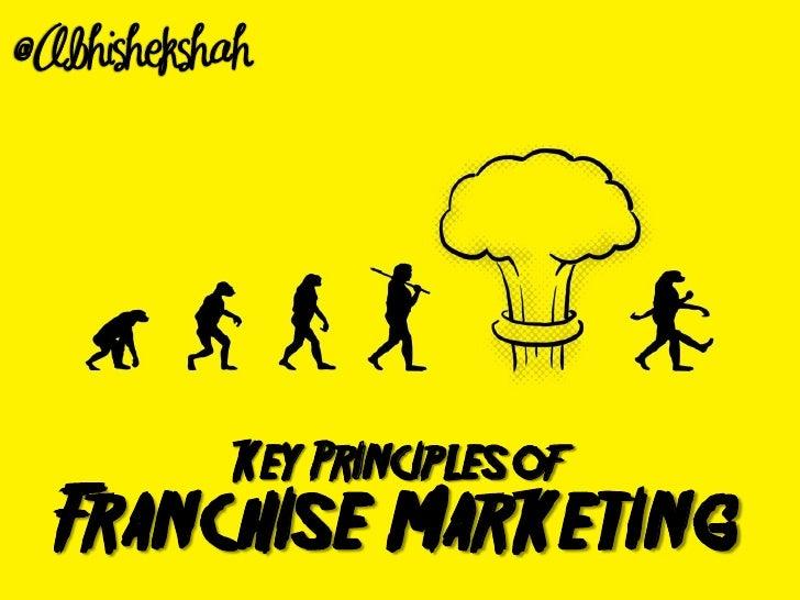 Key Principles of Franchise Marketing