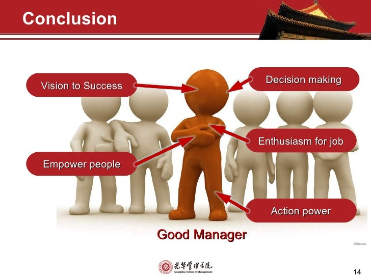 Key qualities and skills of a good manager