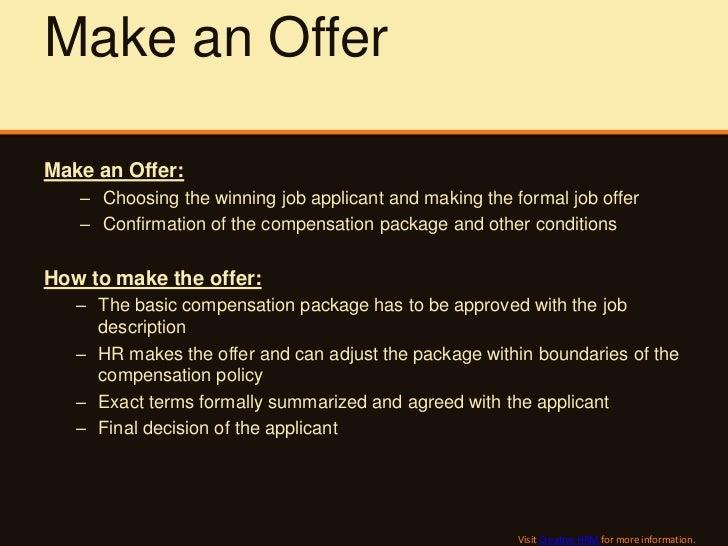 Key Recruitment Process Steps and Measurement