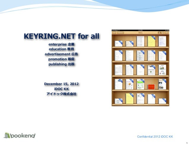 Confidential 2012 iDOC KK                            1