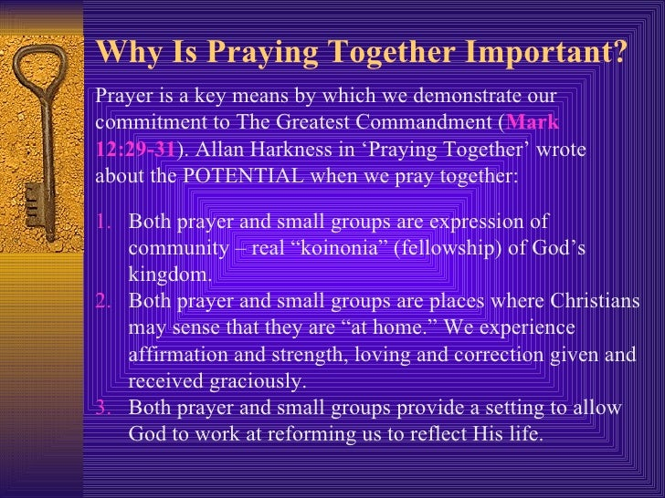 Recently On Prayer