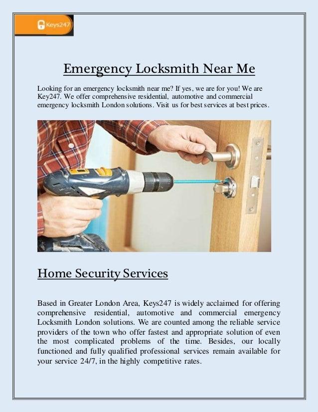 Emergency Locksmith Near Me - keys247