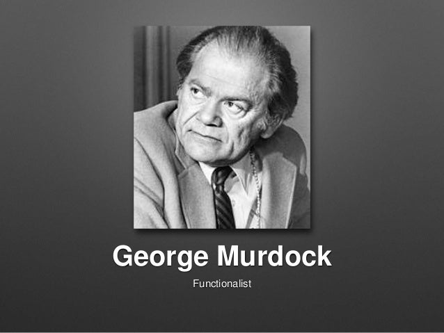 george murdock 65 cultural universals