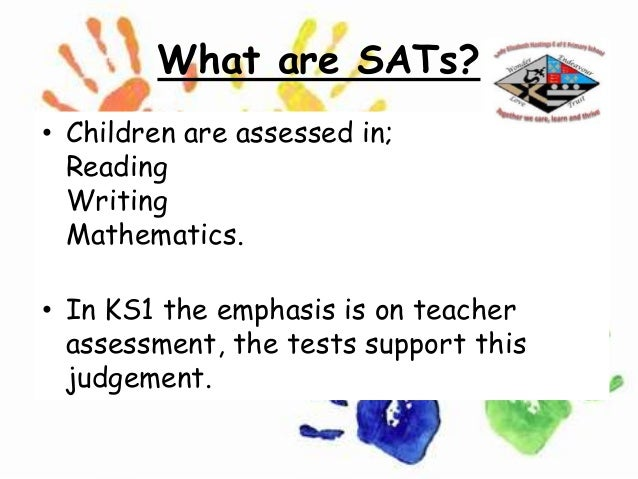 Key stage 1 sats meeting
