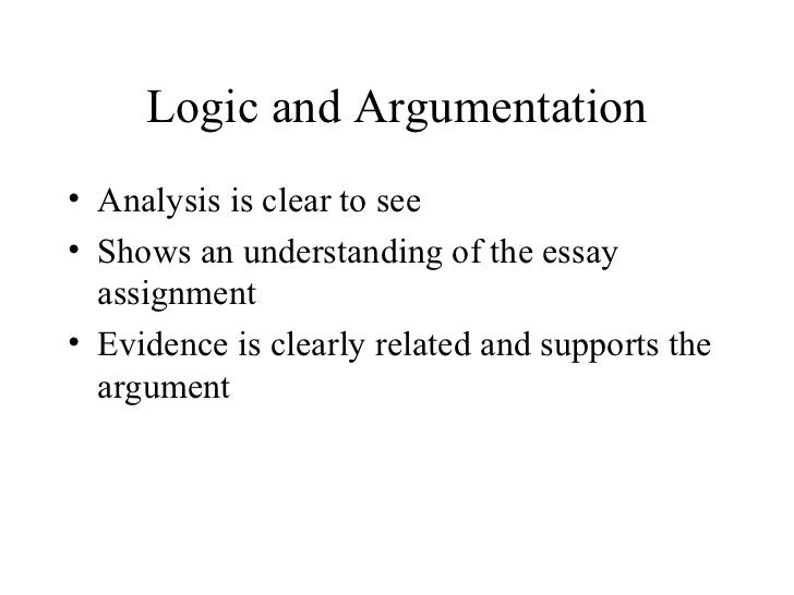 argument analysis essay examples