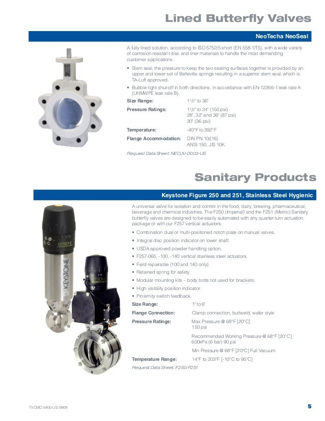 keystone valves diameter valves 5