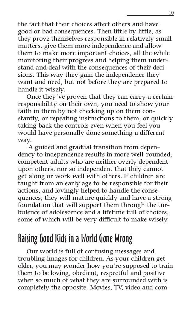 Keys to Parenting: Keys to Kids