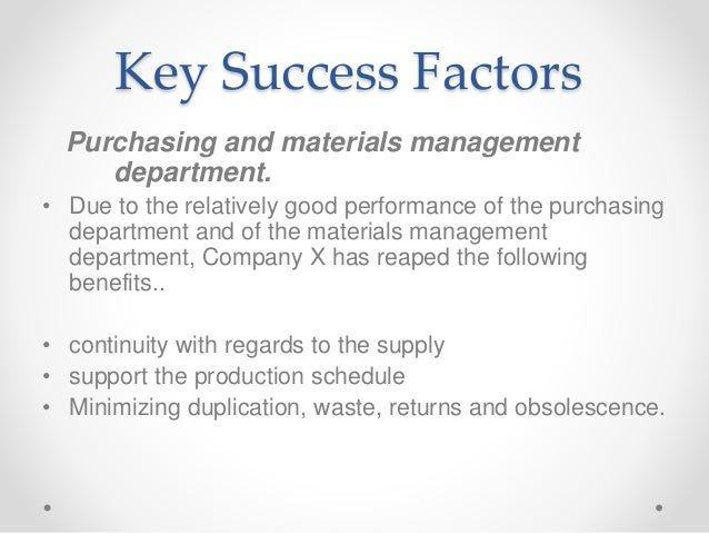key success factors for a commercial An identification and discussion of key success factors in the acquisition of commercial-off-the-shelf (cots) based systems thesis john f corbett, captain, usaf.