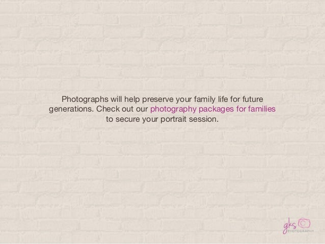 Key Things to Remember When Shooting Family Portraits