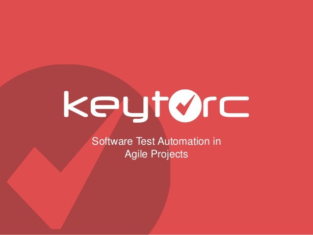 Software Test Automation in Agile Projects