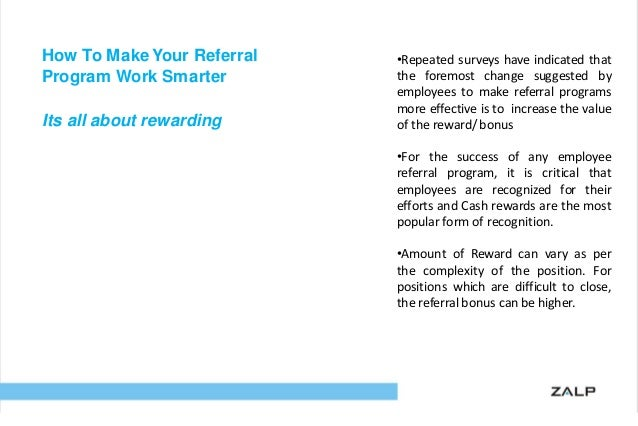Key To A Smart Employee Referral Program