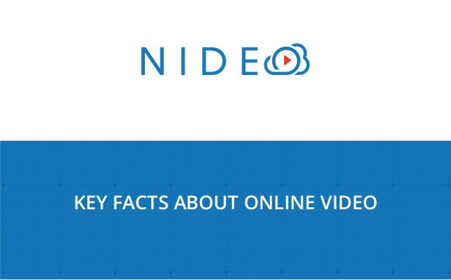 KEY FACTS ABOUT ONLINE VIDEO