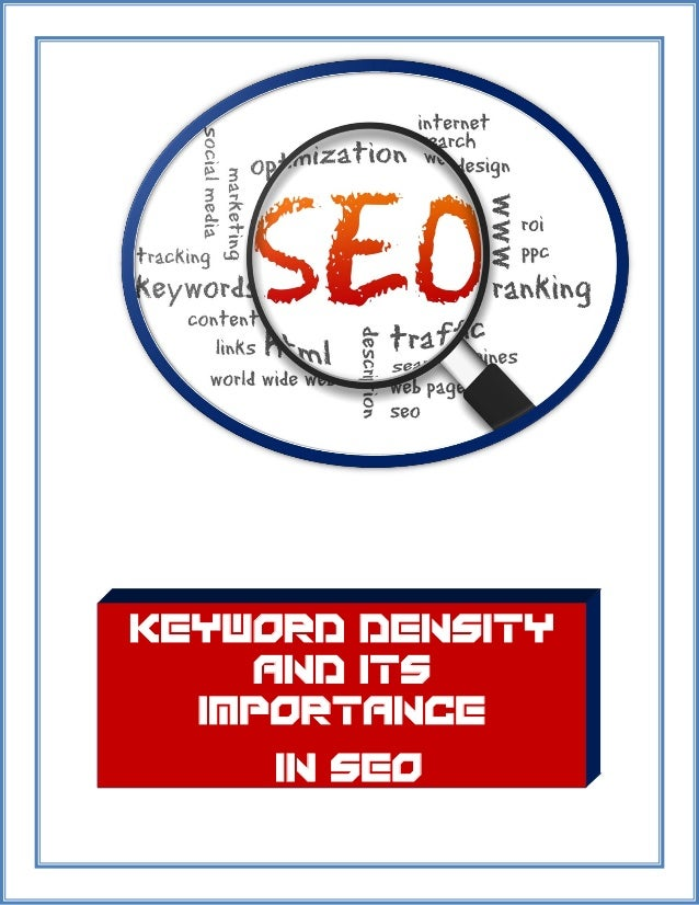 Keyword Density and Its Importance in SEO