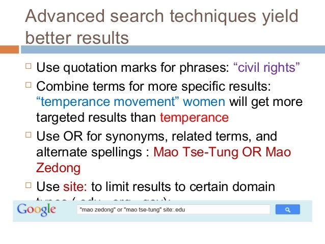 Use Natural Language Search With Quotation Marks