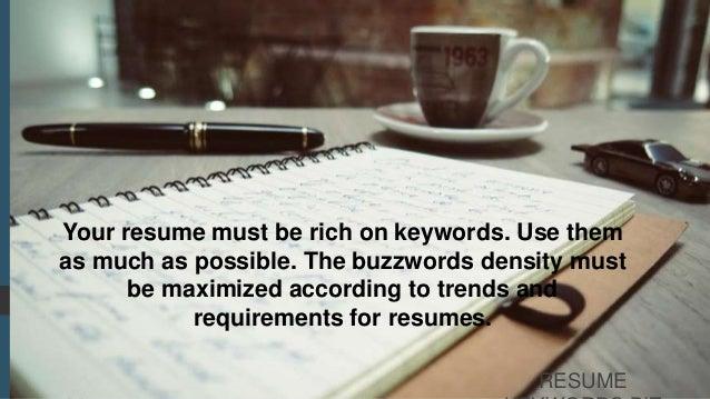 keywords for resume  resume optimization guide