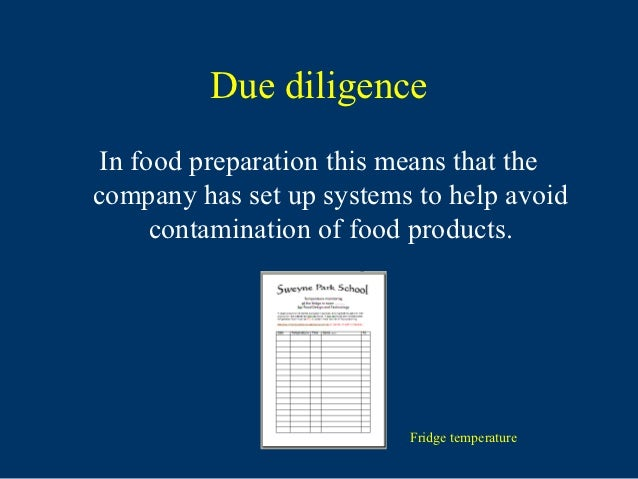 Health And Food Technology Drv