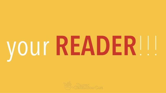 your READER!!!