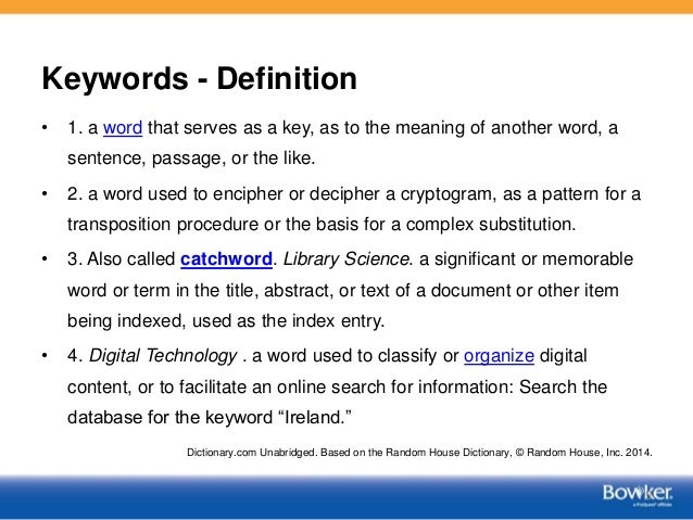 Image Result For Keyword Define Keyword At Dictionary Com