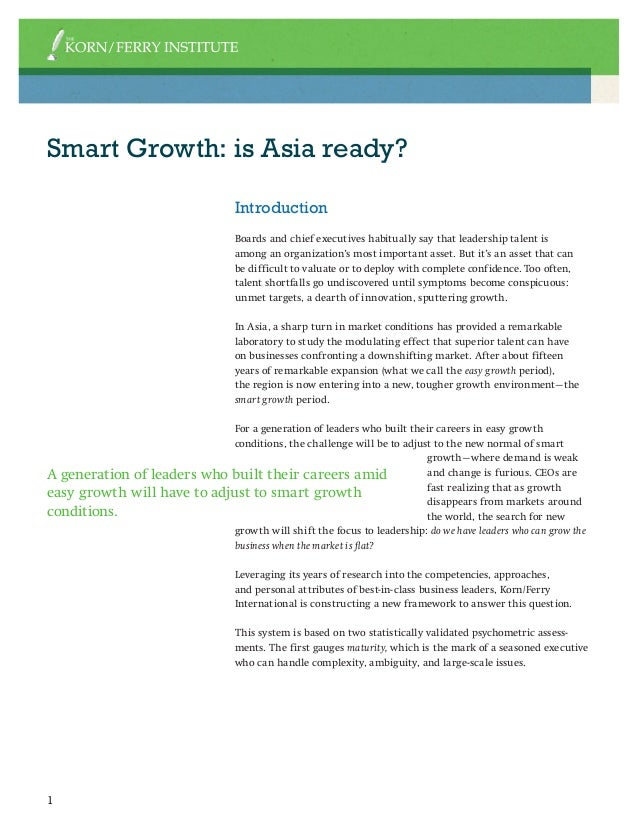Research Report by Korn/Ferry Institute