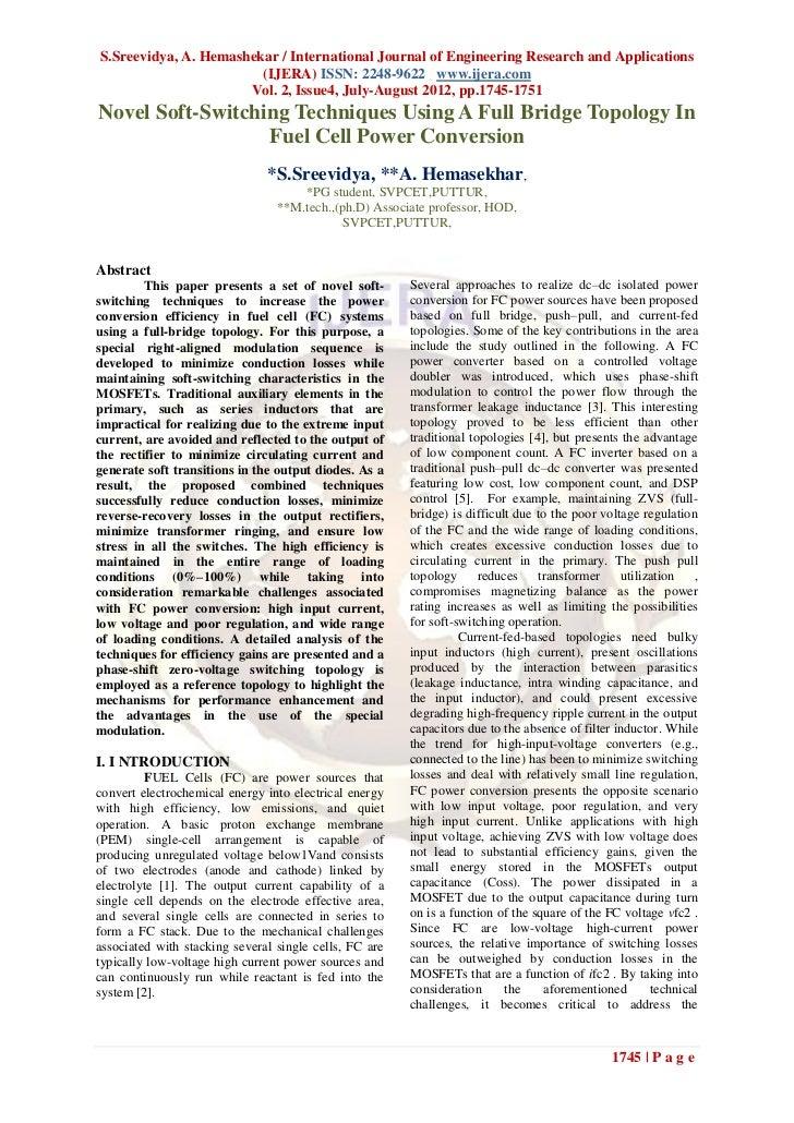 S.Sreevidya, A. Hemashekar / International Journal of Engineering Research and Applications                        (IJERA)...