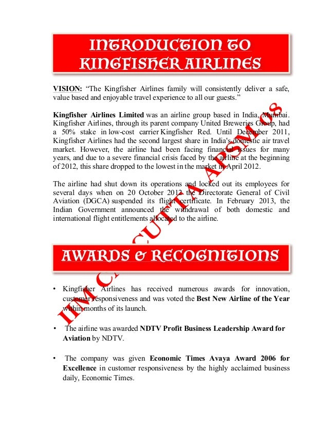 marketing strategies of kingfisher airlines in india tourism essay An initiative implemented with the financial support of the european union wwweusmecentreorgcn implemented by hr challenges in china written by.