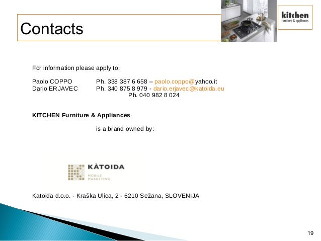 Kitchen Furniture Amp Appliances Presentation