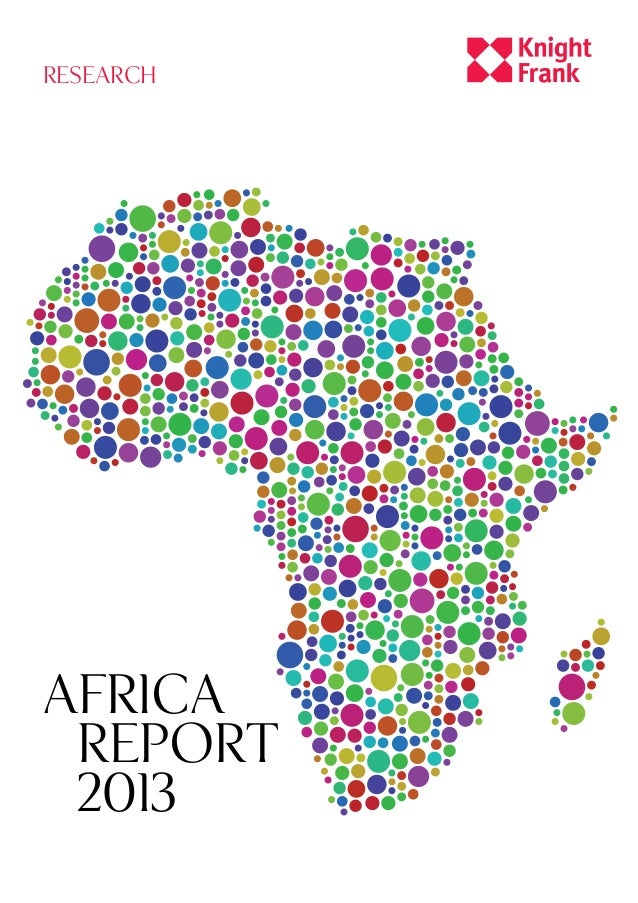 RESEARCH  africa report 2013