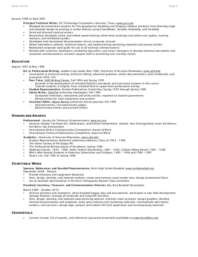 Professional Resume Writing Service Houston | Free Resume Template
