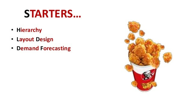 kfc supply chain management Supply chain lessons from kfc's 'chicken chaos'  kfc awarded the contract for  dhl to manage the supply and distribution of its food.