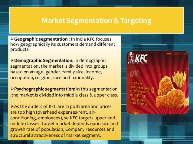 advantages of kfc