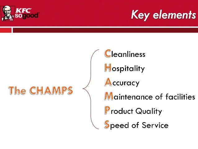 philosophy of kfc Conclusion kfc keep coming out new products especially on the healthier choice newly established computer information system enables them to improve efficiencies on managing their employees, stock control, and sales analysis.