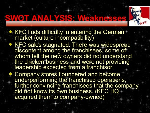 kfc trend analysis The pestle analysis is a useful method to use in order to identify the external factors  step—strategic trend evaluation process stepe—social, technological.