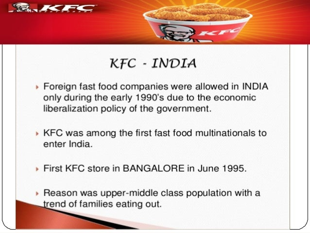 bcg of kfc Welcome to our presentation & global fast-food industry case analysis presented for: hare krisna kundo course teacher, strategic.