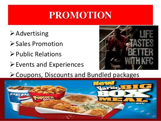 marketing mix extended on kfc Kfc and mcdonald's marketing strategy that the organization extended their is similar to kfc coupons, package and digital marketing all create.