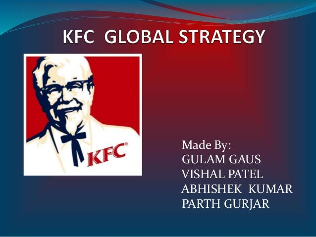 KFC MARKETING STRATEGIES