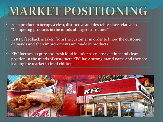 kfc marketing strategies The results indicated that kfc, nando's, and steers adopt similar marketing  strategies or use the same concepts to manage their relationships with both  internal.