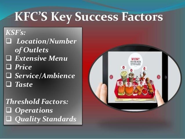reasons for kfc success