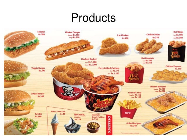 kfc products services Absurdly driven looks at the world of business with a skeptical eye and a firmly  rooted tongue in cheek unless you've been cooped up with a.
